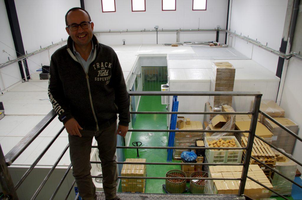 Casa Amella invierte medio millón de euros en su traslado de la planta de Moià a Artés
