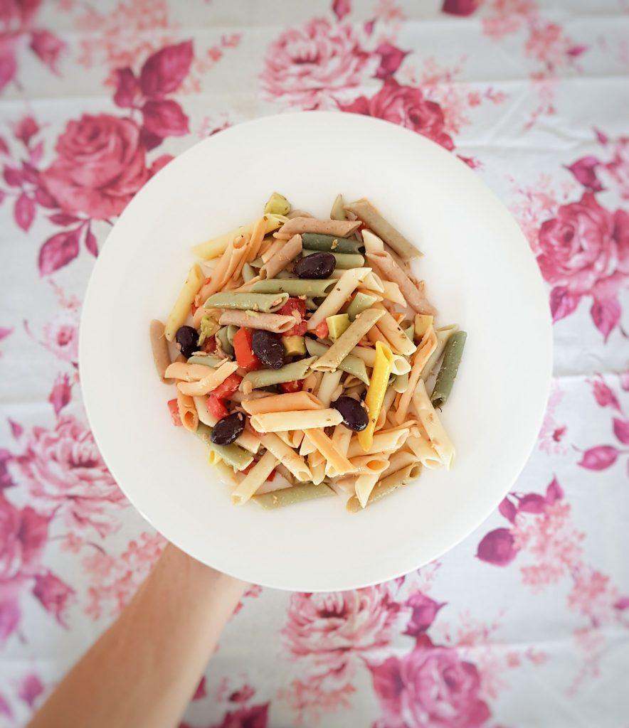 Amanida freda de macarrons 8 verdures