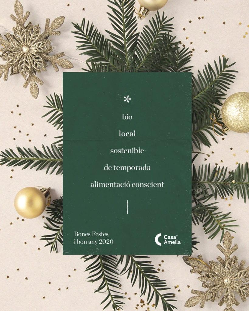 Us desitgem unes bones festes i un bon any 2020!